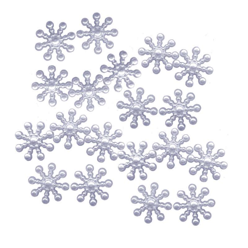Confettis de table flocon de neige