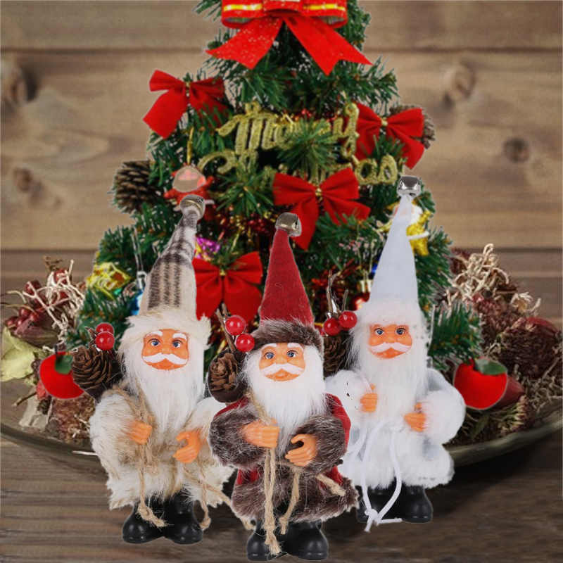 Idée de decoration de table père Noël : comment réaliser un centre de table de Noël.