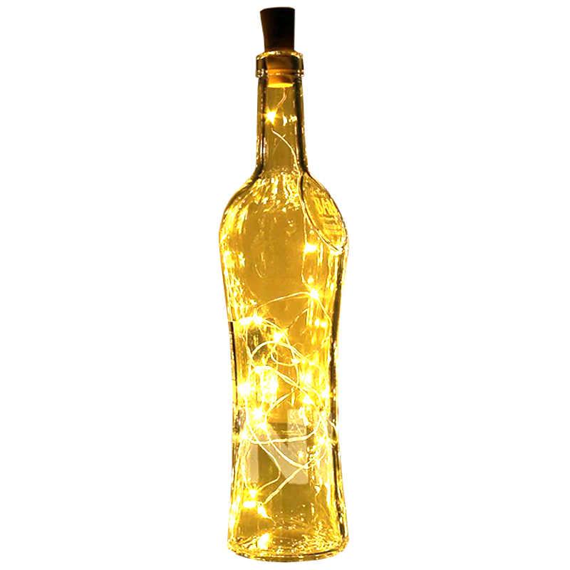 Guirlande lumineuse pour bouteille