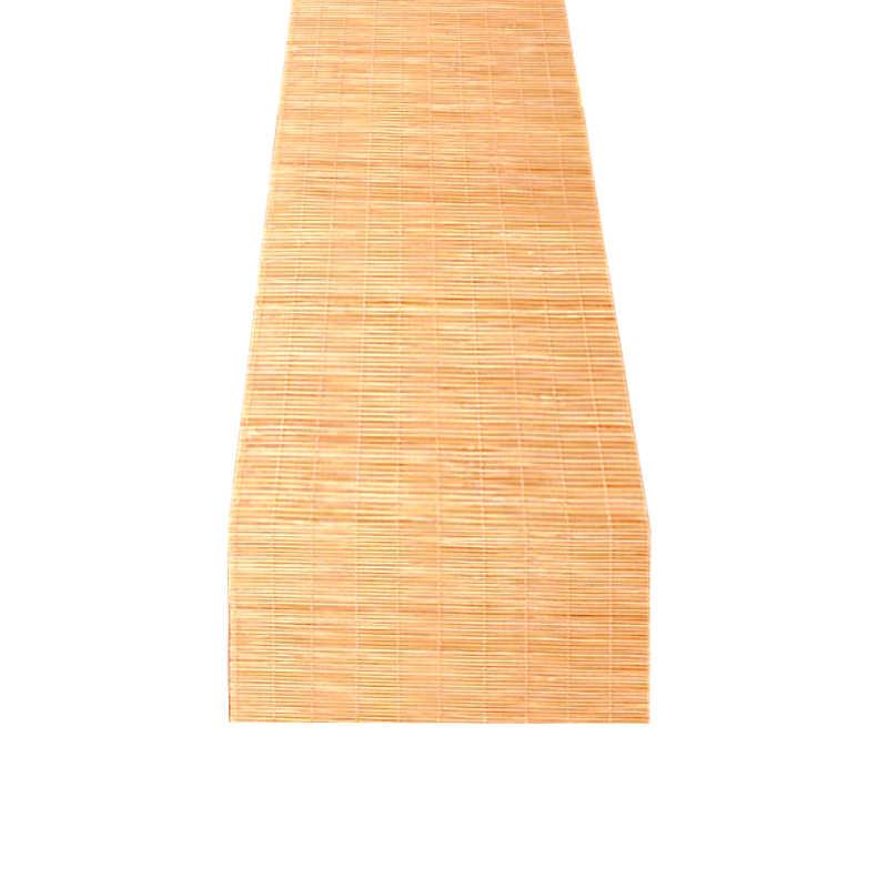 Chemin de table en bambou traditionnel