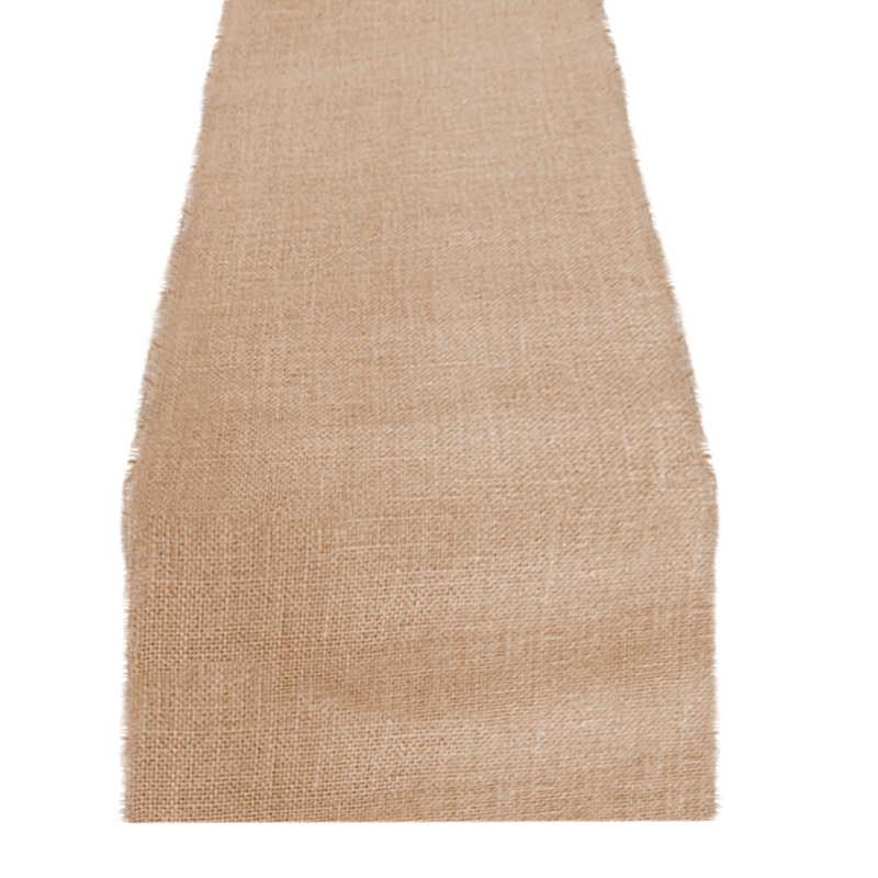 Chemin de table toile de jute 50 cm