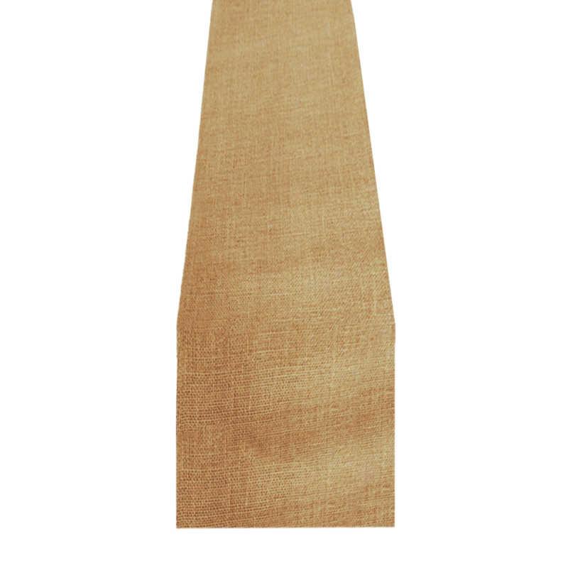 Chemin de table toile de jute 15 cm (10 m)