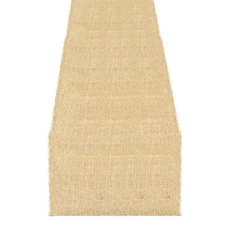 Chemin de table toile de jute 35 cm (10m)
