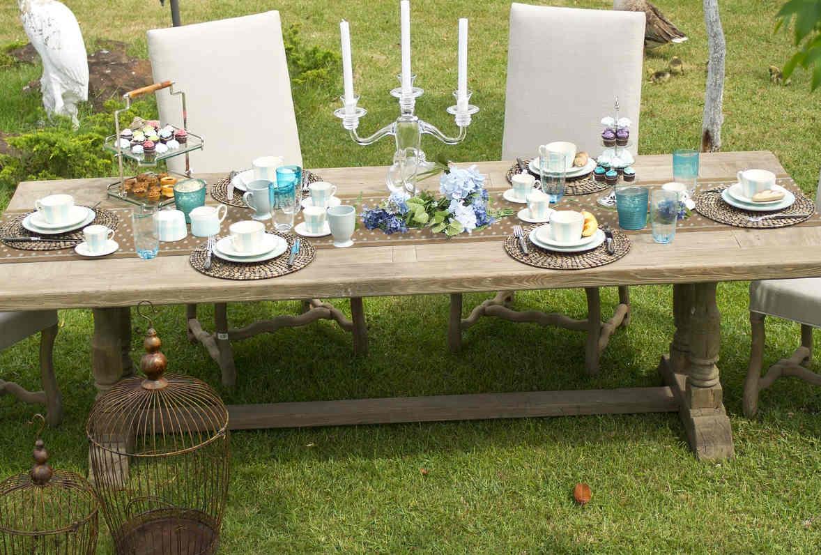 decoration table de mariage toile de jute