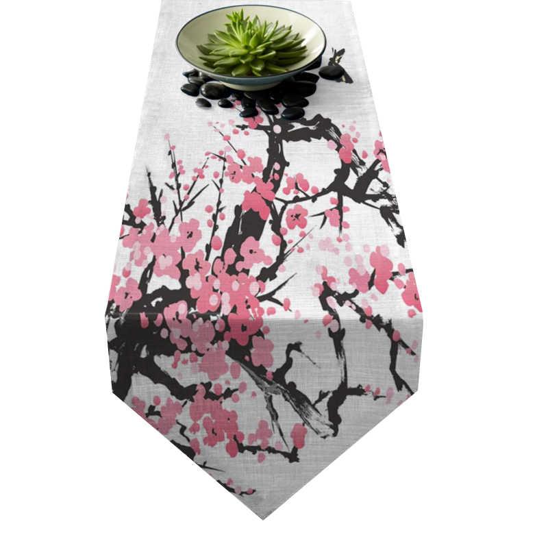 Chemin de table fleur de cerisier