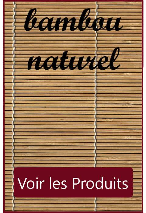 Choisir un chemin de  table en bambou