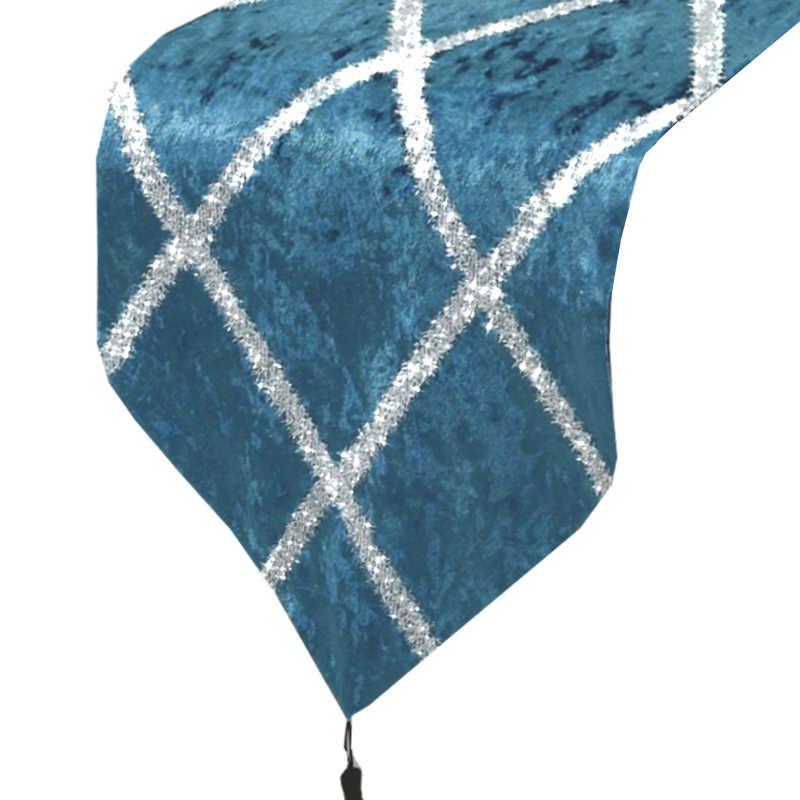 chemin-de-table-bleu-paillete