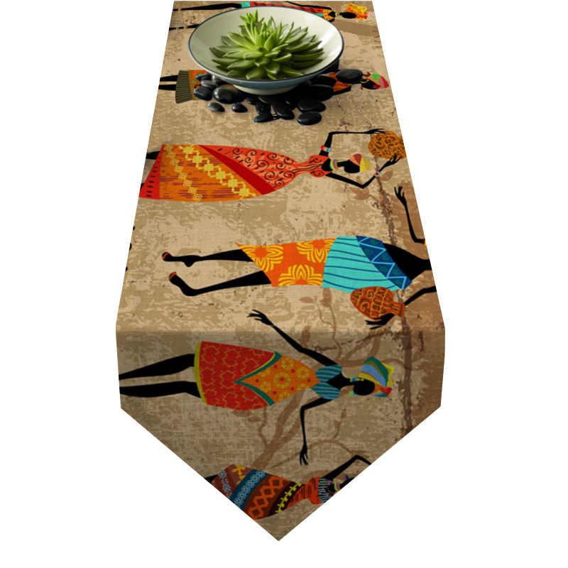 Chemin de table style africain