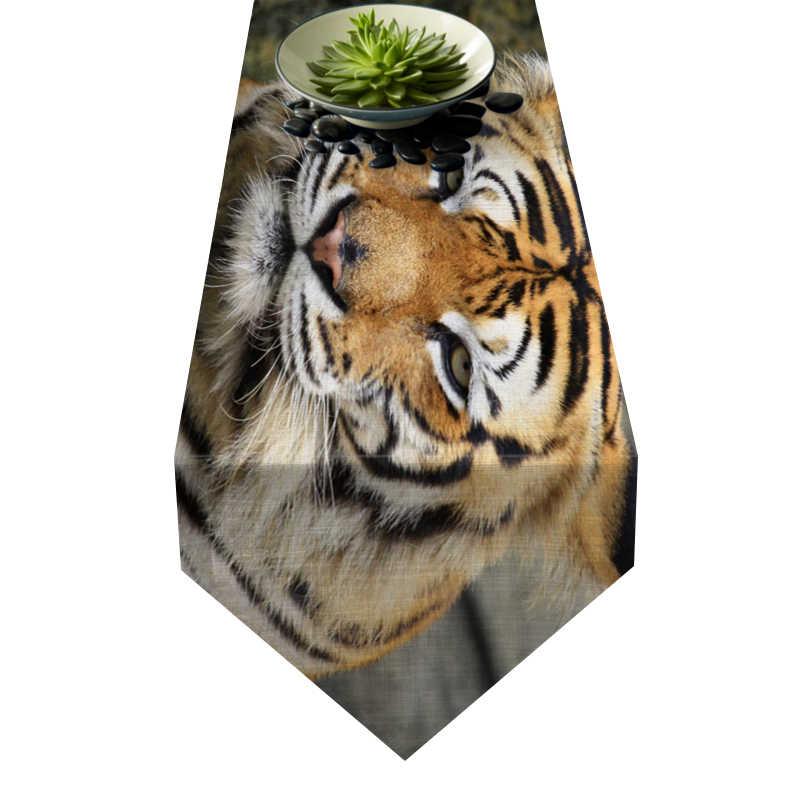 Chemin de table tigre