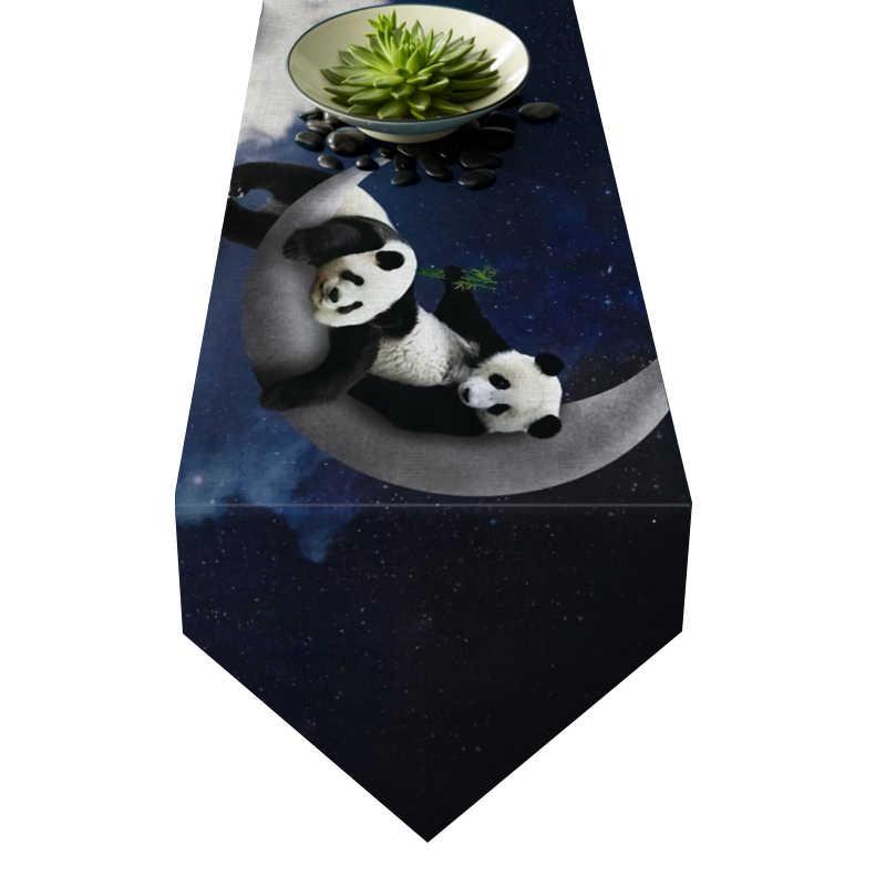 Chemin de table panda
