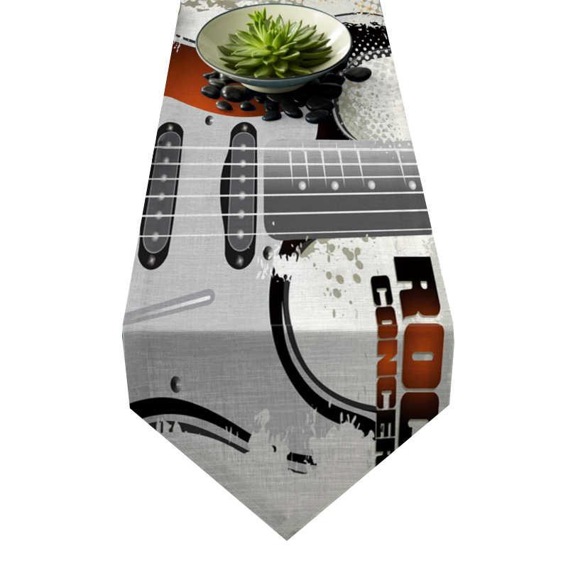 Chemin de table guitare