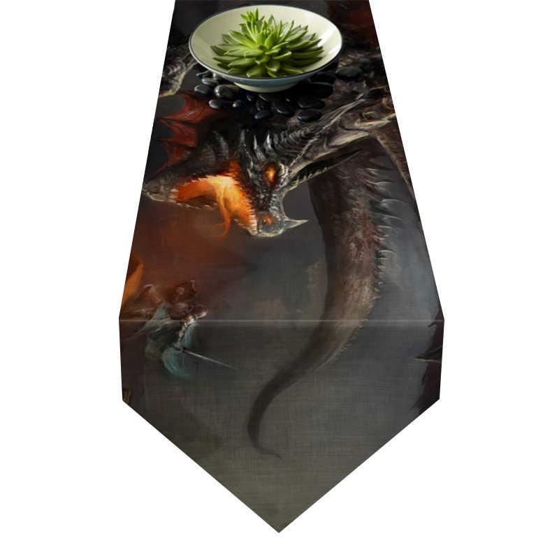 Chemin de table dragon