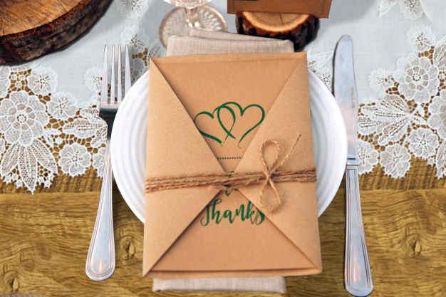décoration de table pour mariage dentelle