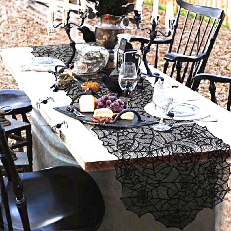 décoration de table halloween effrayante