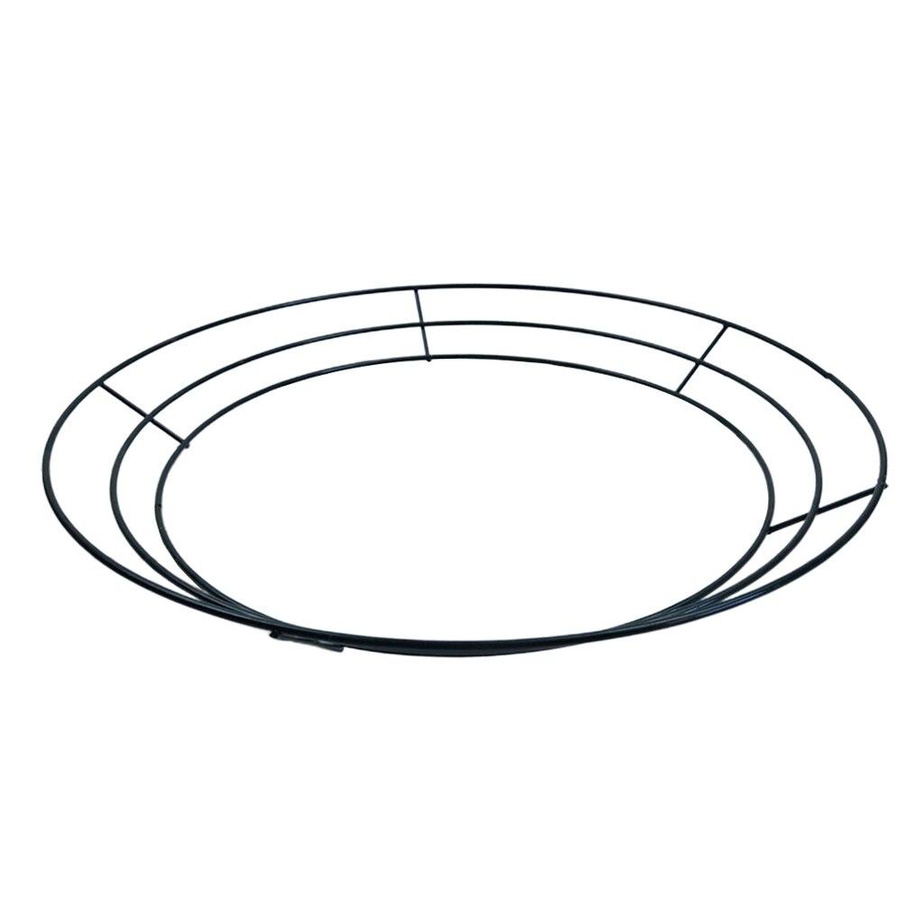 support-metal-couronne-de-noel