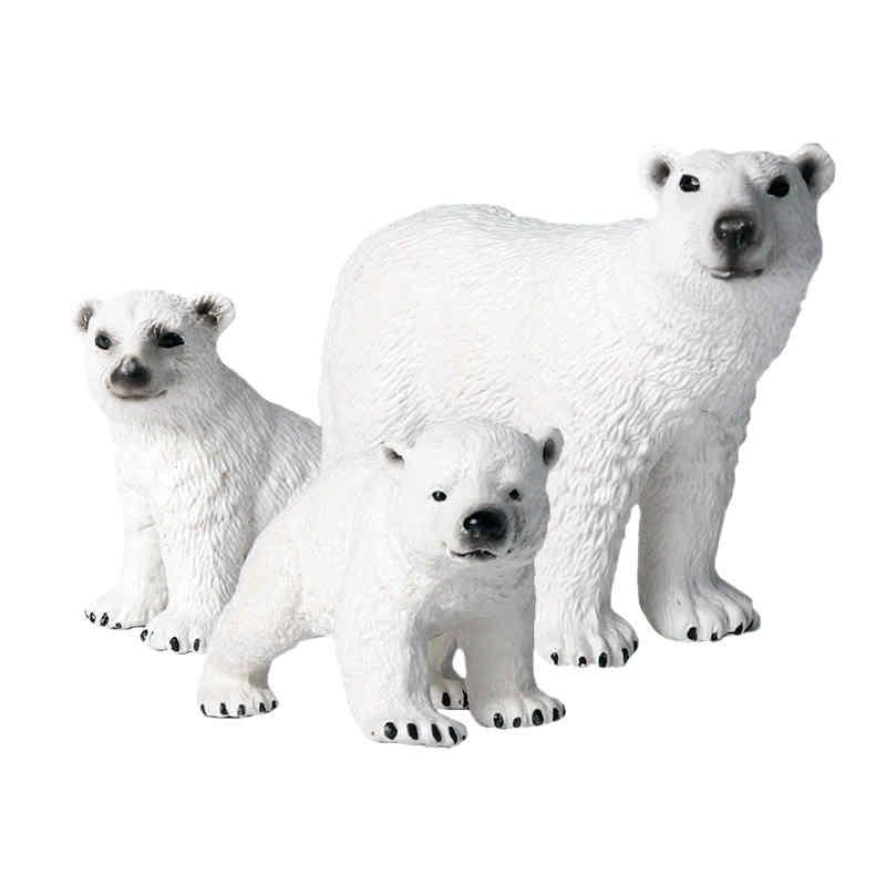deco-de-table-ours-polaire-blanc