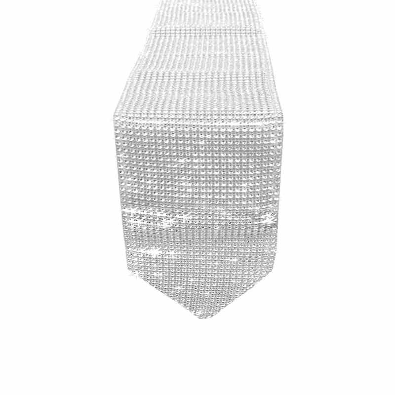 Chemin de table diamant strass