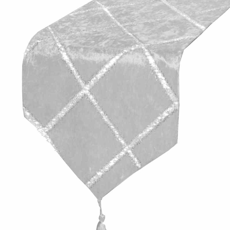 chemin-de-table-gris-paillete