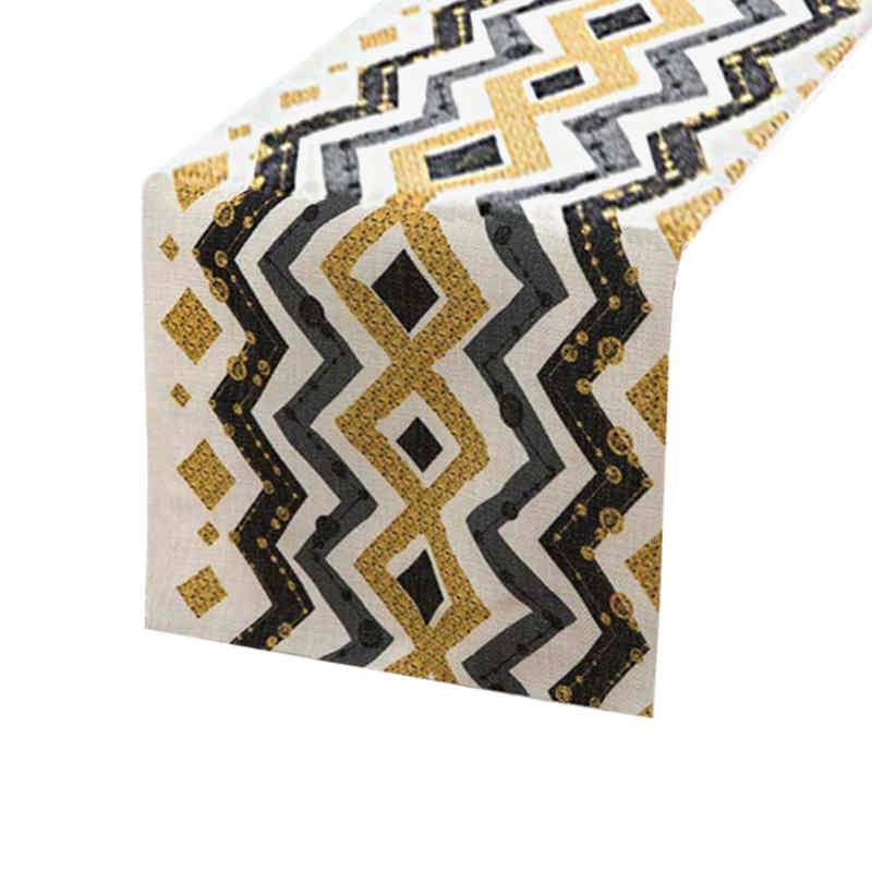 chemin-de-table-motif-or