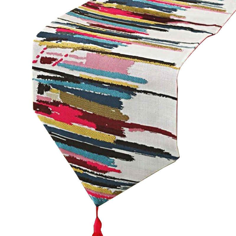 chemin-de-table-multicolore