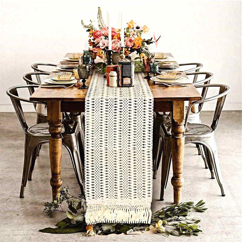 décoration de table theme bohème chic