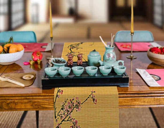 deco de table nouvel an chinois