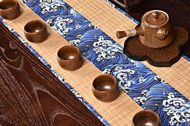 table à thé japonaise