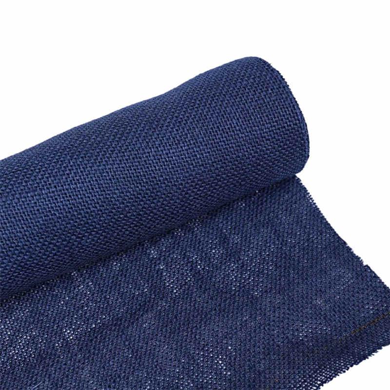 chemin-de-table-bleu-marine-jute