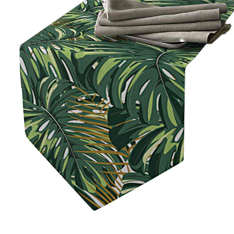 chemin-de-table-jungle