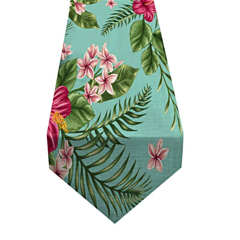 chemin-de-table-fleur-hibiscus