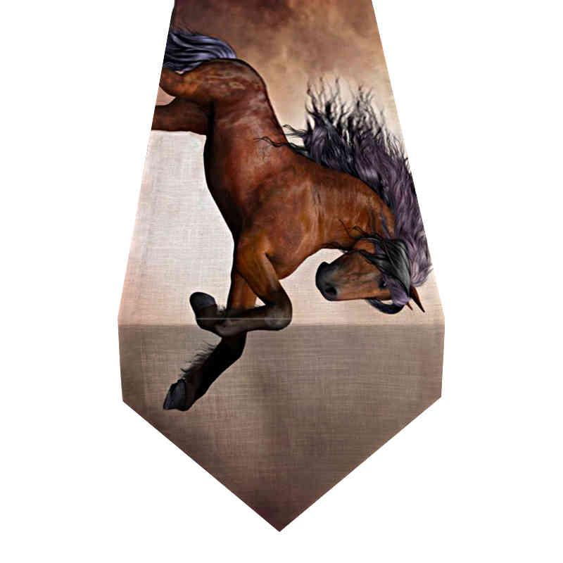 chemin-de-table-cheval