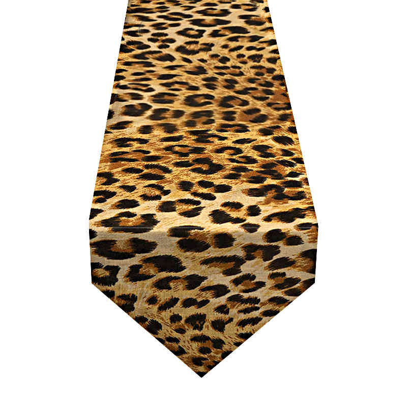 chemin-de-table-motif-leopard