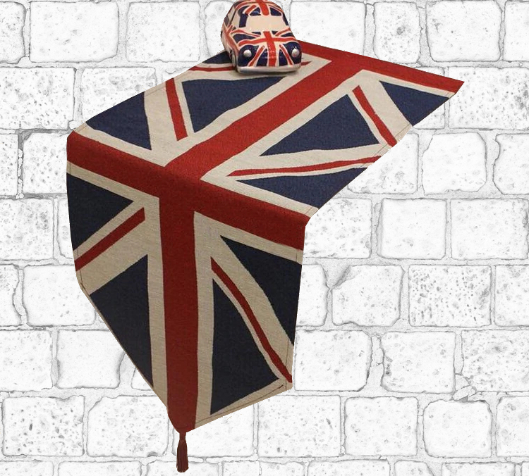 Chemin de table drapeau anglais