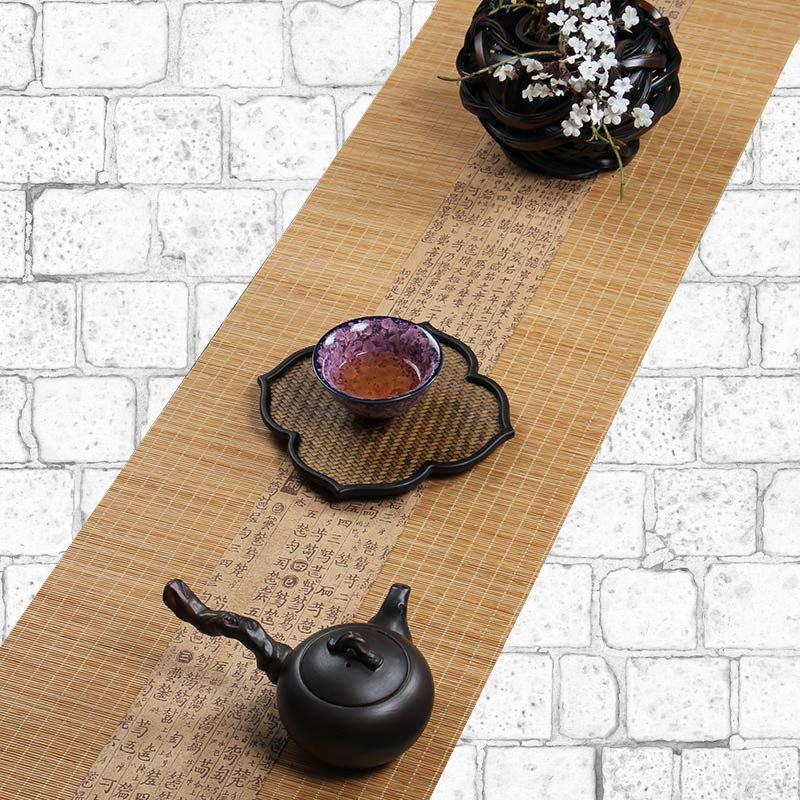 Chemin de table bambou japonais