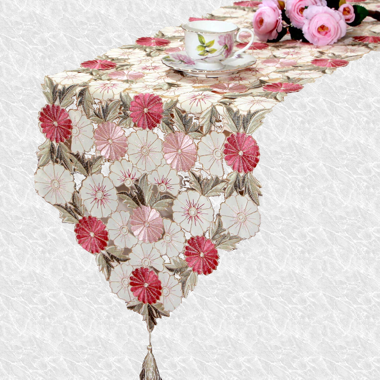 Chemin de table fleur champetre