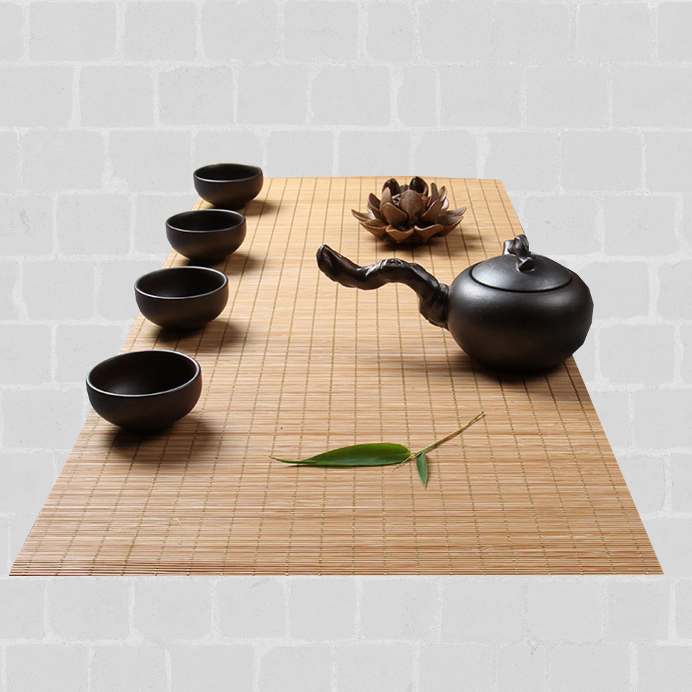 Chemin de table bambou naturel