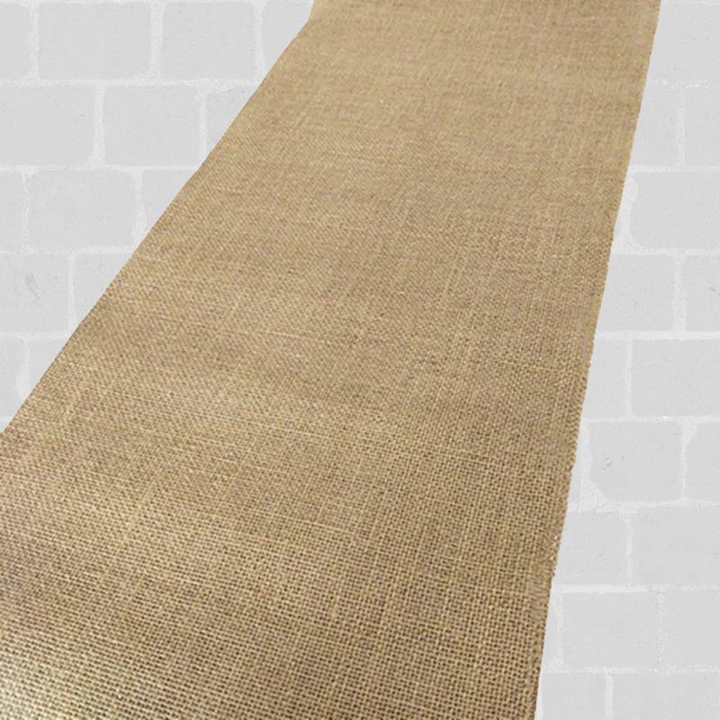 Chemin de table toile de jute 10 m