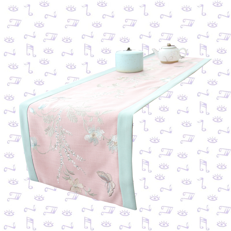 Chemin de table bapteme fille