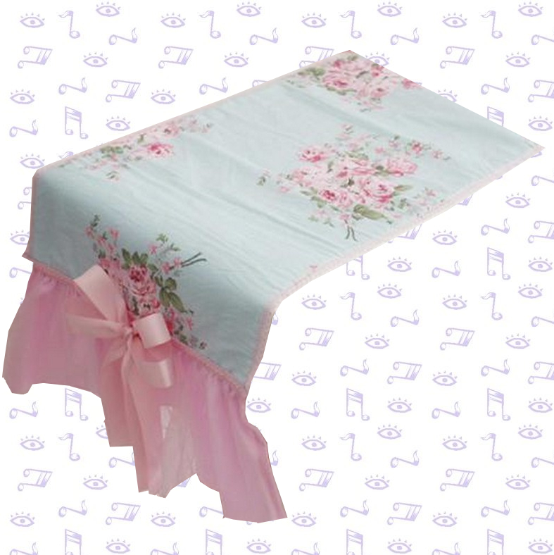 Chemin de table bapteme princesse