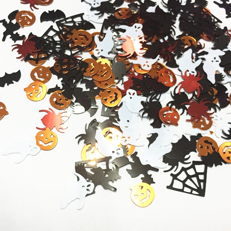 Confettis de table halloween
