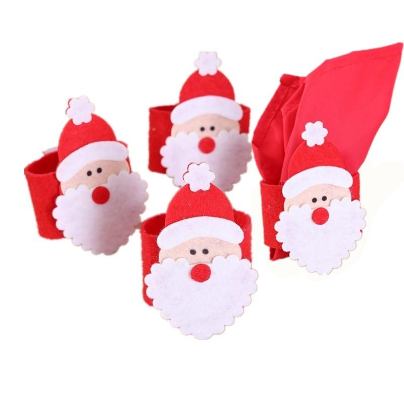 Rond de serviette Noël