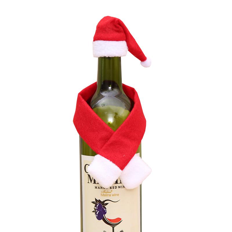 Décoration Noël bouteille de vin