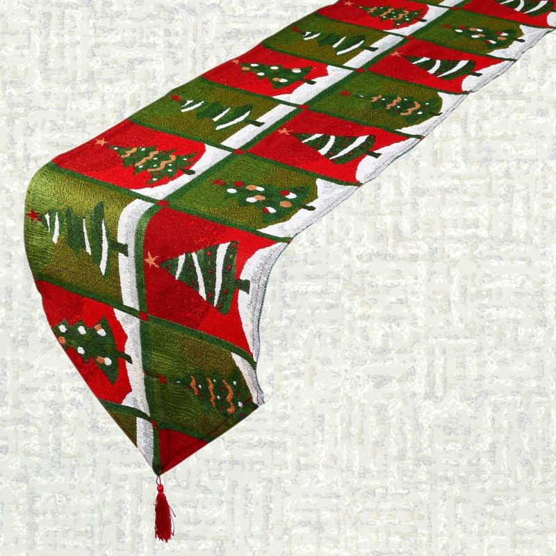 Chemin de table Noël sapin