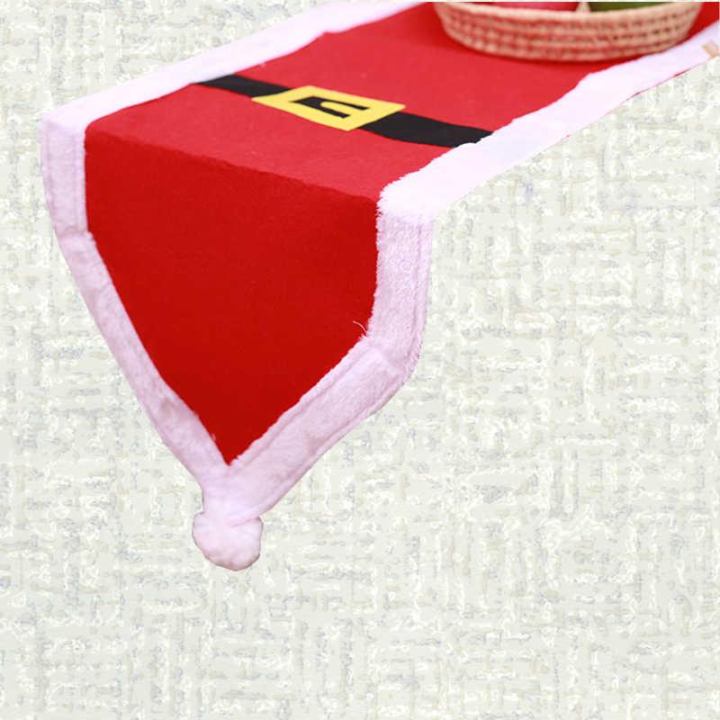 Chemin de table Noël Santa Claus