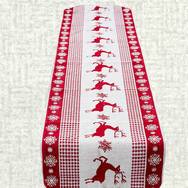 Chemin de table Noël scandinave