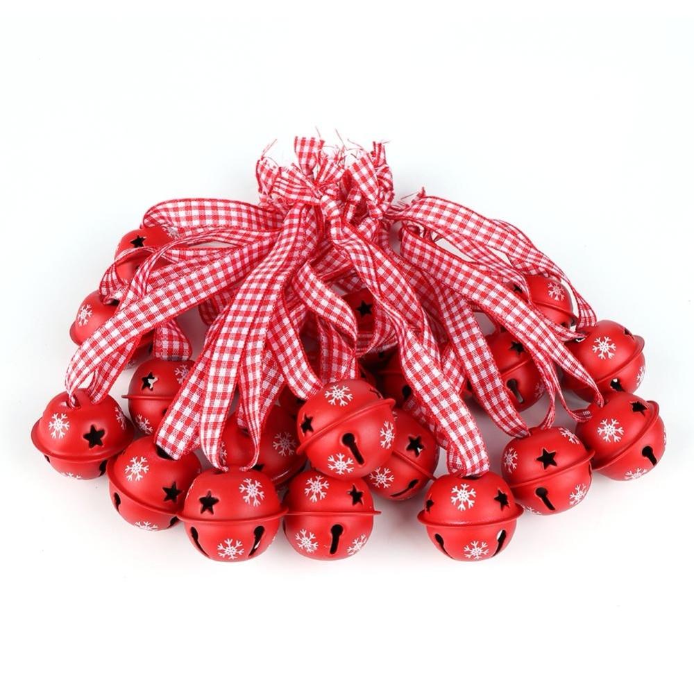 Grelots de Noël rouges