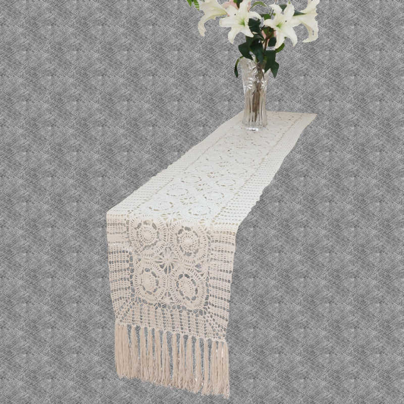 Chemin de table crochet vintage