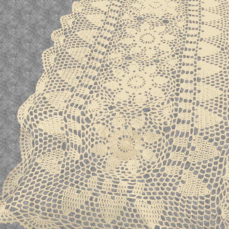 Chemin de table crochet ancien