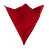 serviettes-de-table-satin-rouge