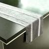 chemin-de-table-gris-strass-moderne-nouvel-an